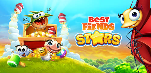 Best Fiends Stars – Free Puzzle Game بازی کم حجم اندروید
